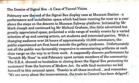 SMN Signal Box